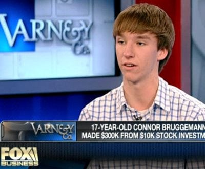a young day trader