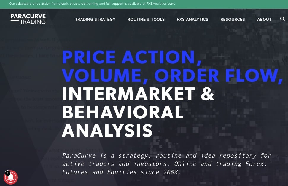 trading blog paracurve