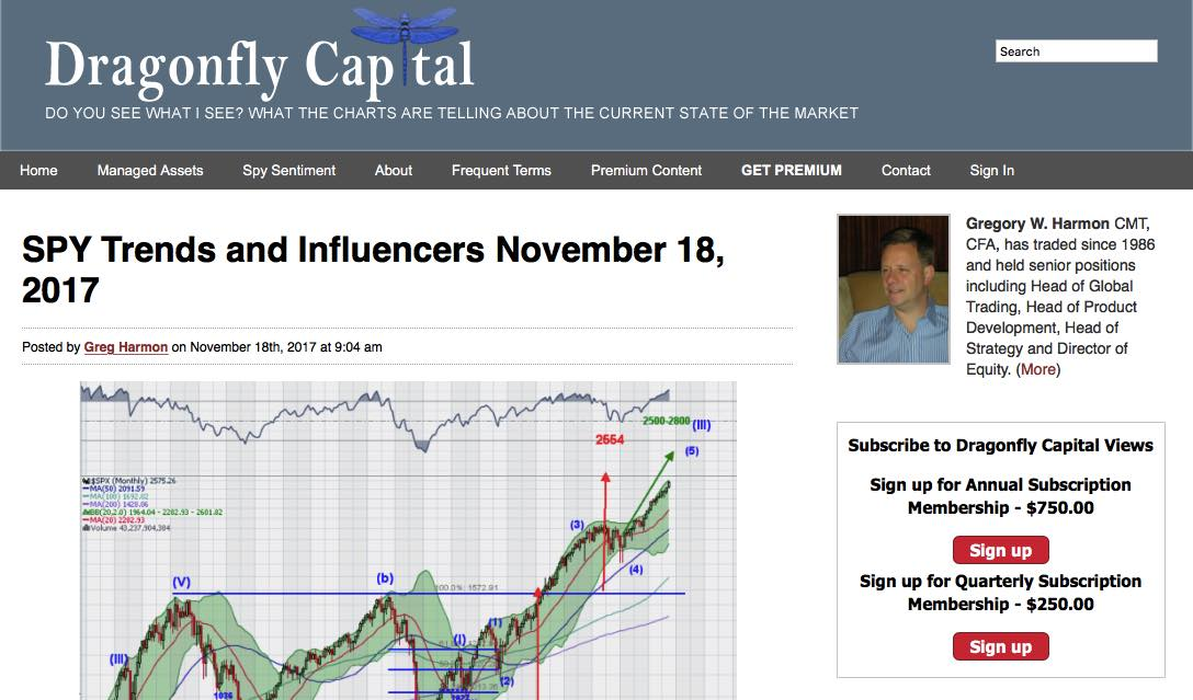 screenshot of dragonfly capital website