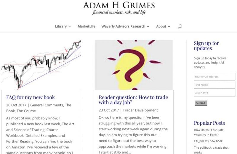 adamh grimes trading site screenshot