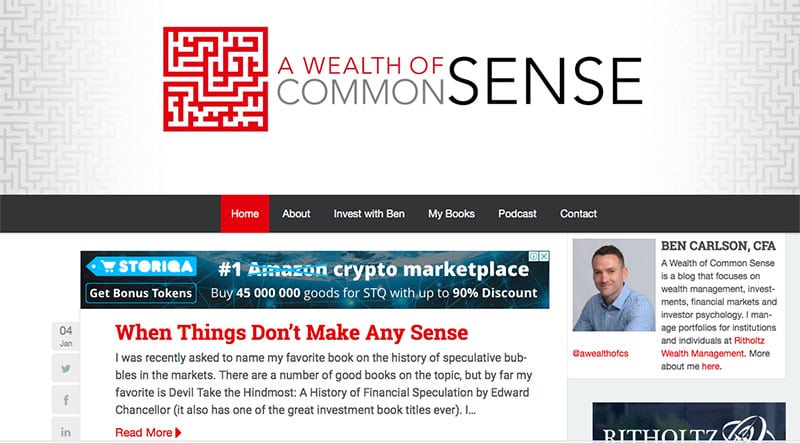 picture of common sense homepage