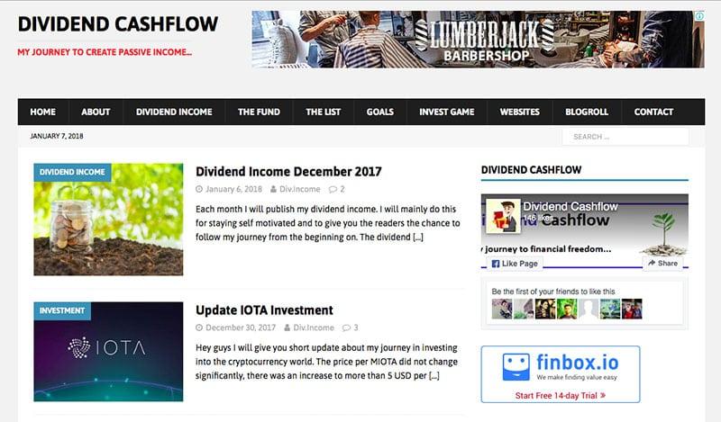 dividend cashflow blog