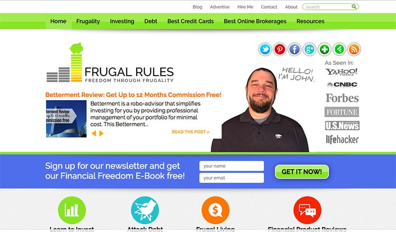 the frugal rules website hp picture