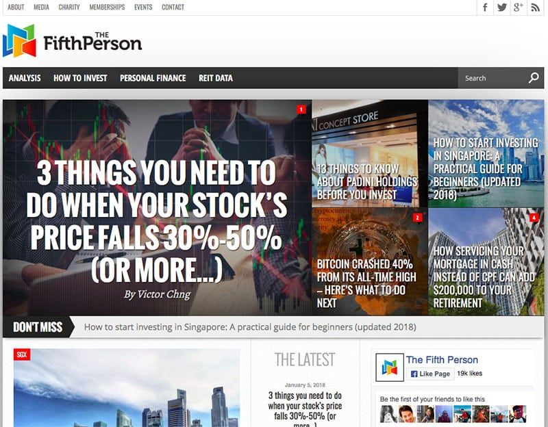 the fifth person homepage picture
