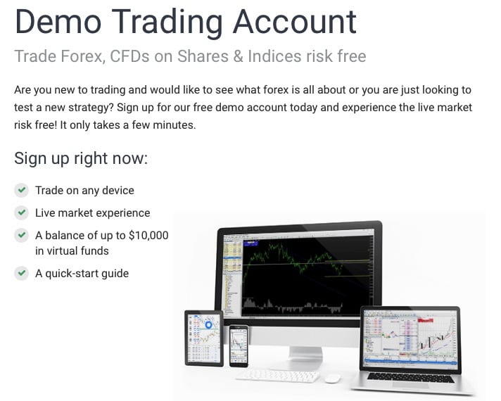 demo account overview