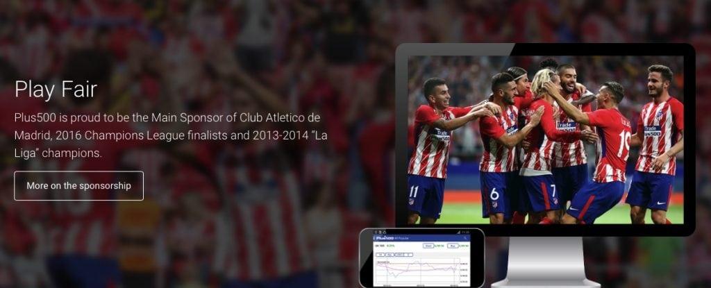 sponsorship of atletico madrid