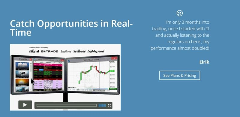 real-time trading opportunities